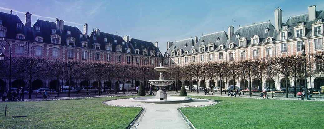 Einer der vielen Parks in Paris